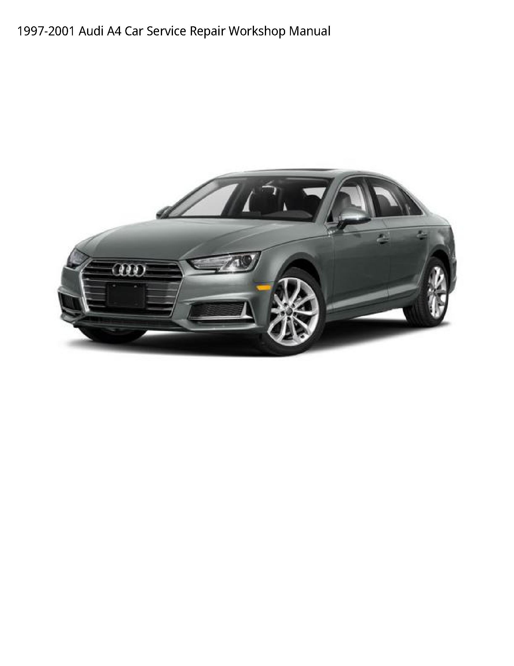 Audi A4 Car manual