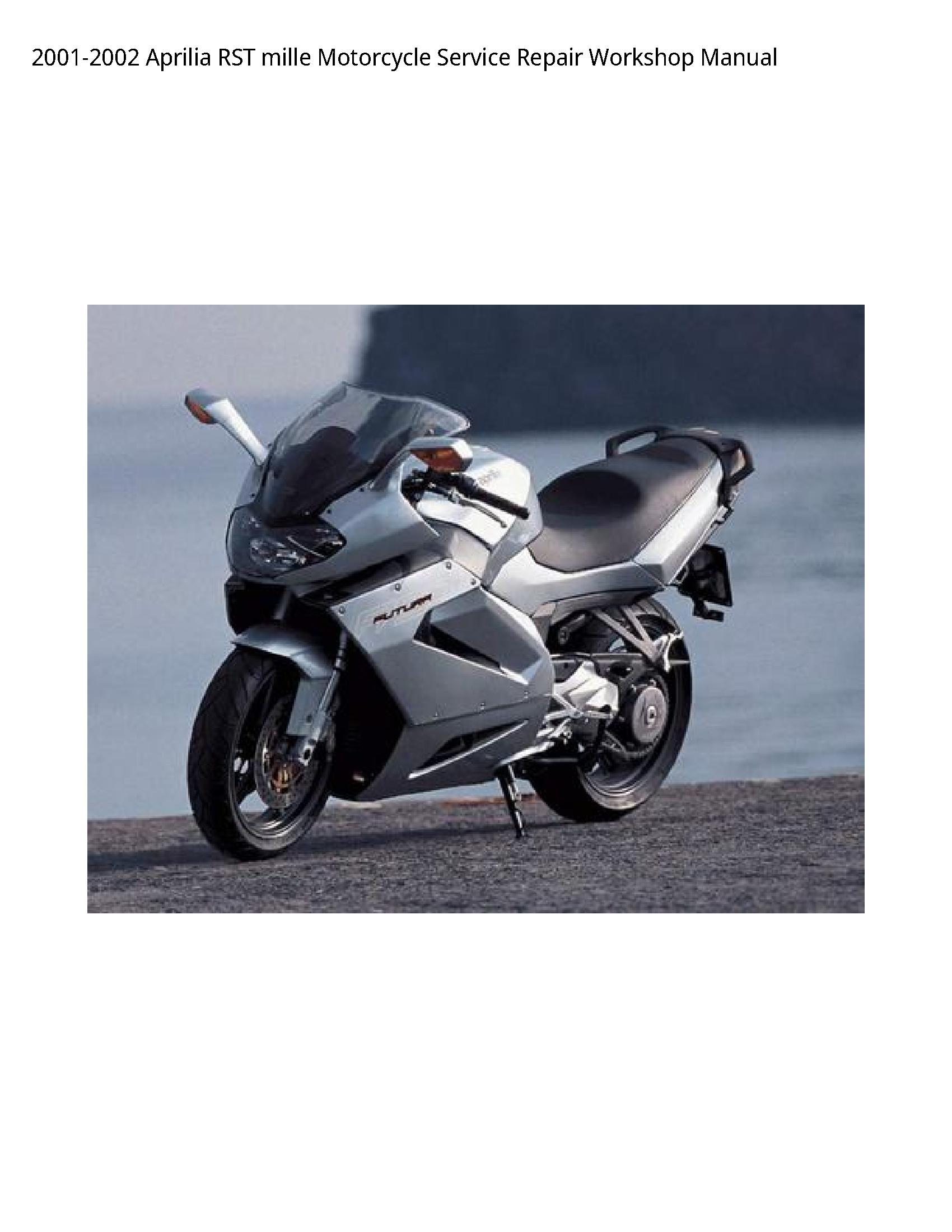 Aprilia RST mille Motorcycle manual