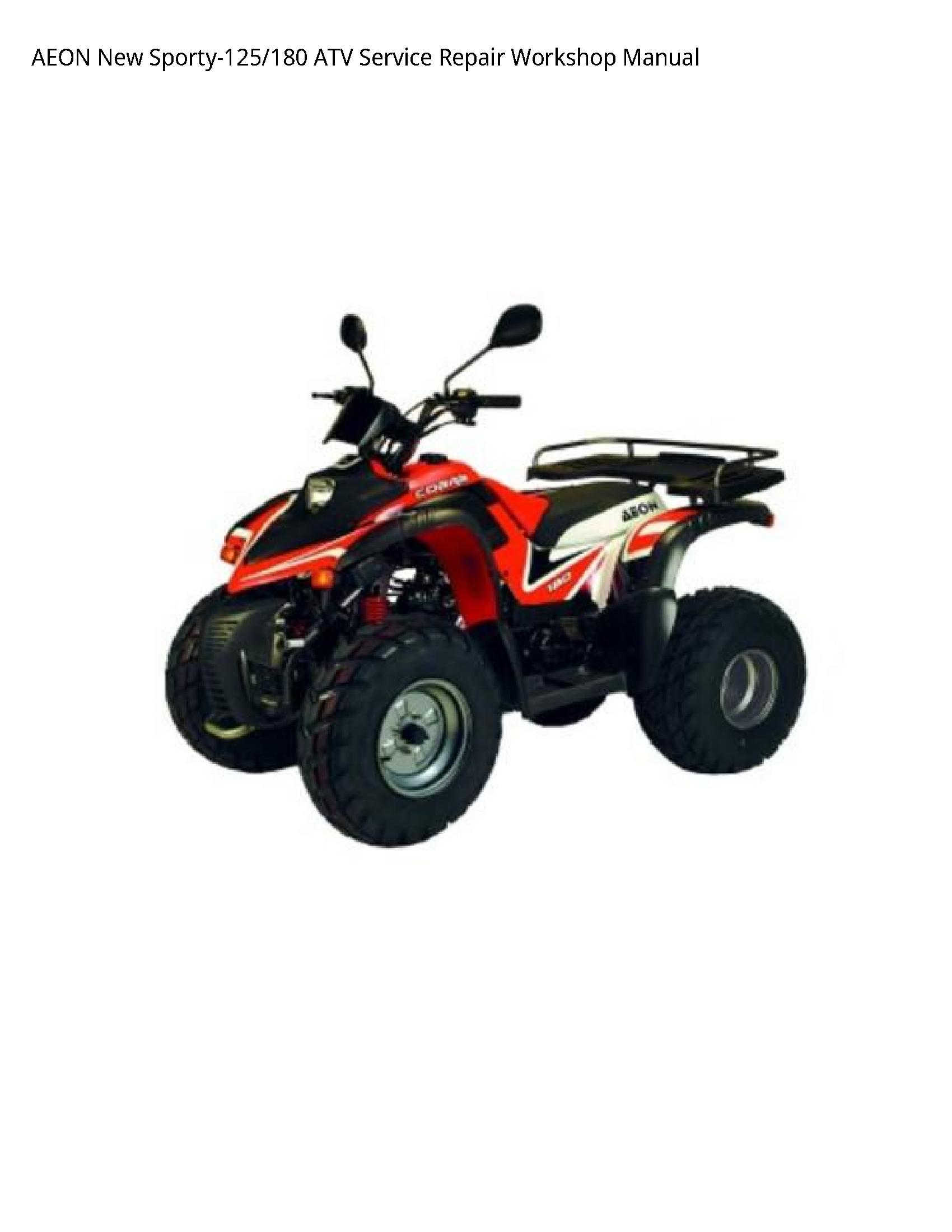 AEON Sporty-125 New ATV manual