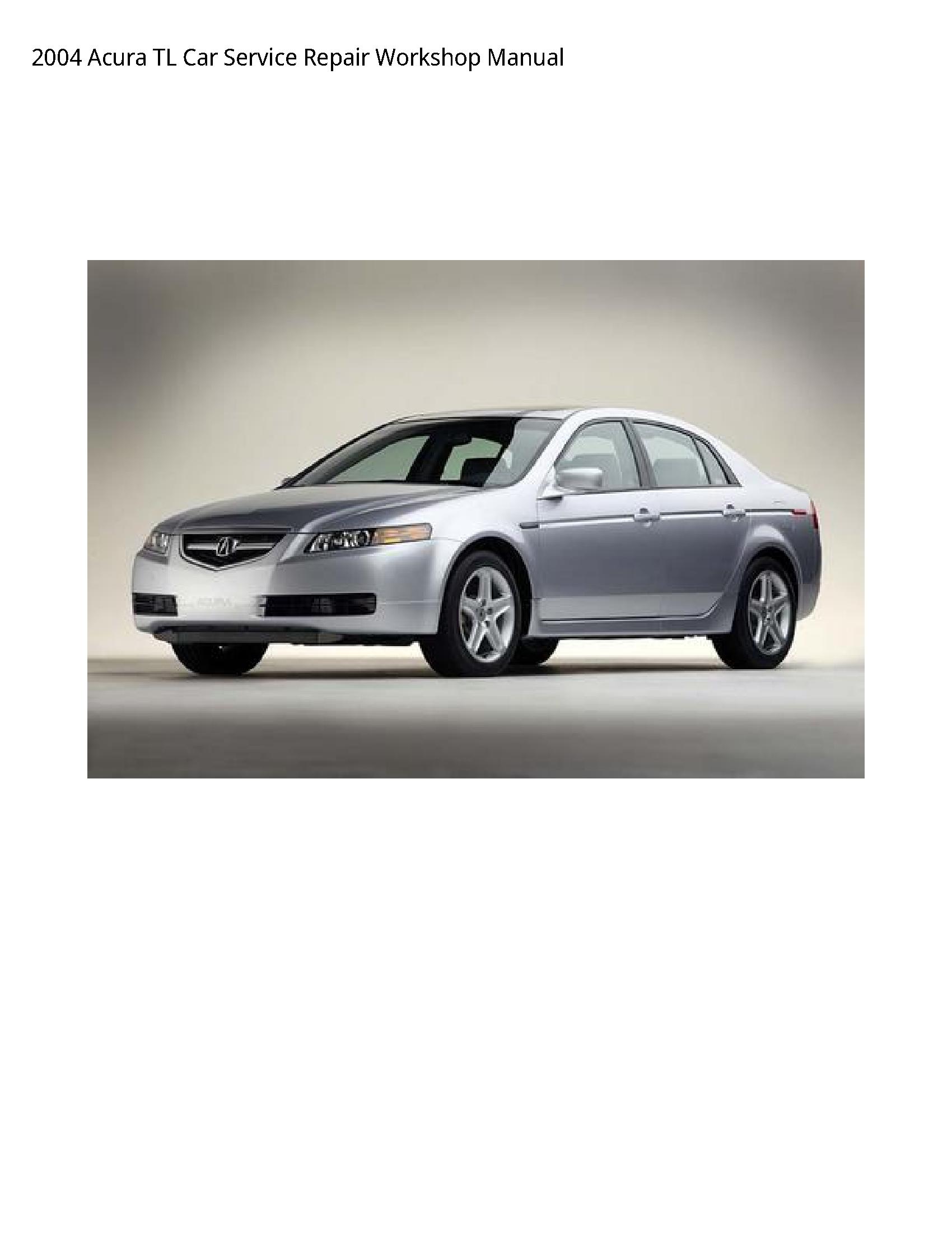 Acura TL Car manual