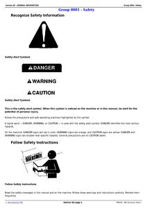 John Deere 80C manual pdf