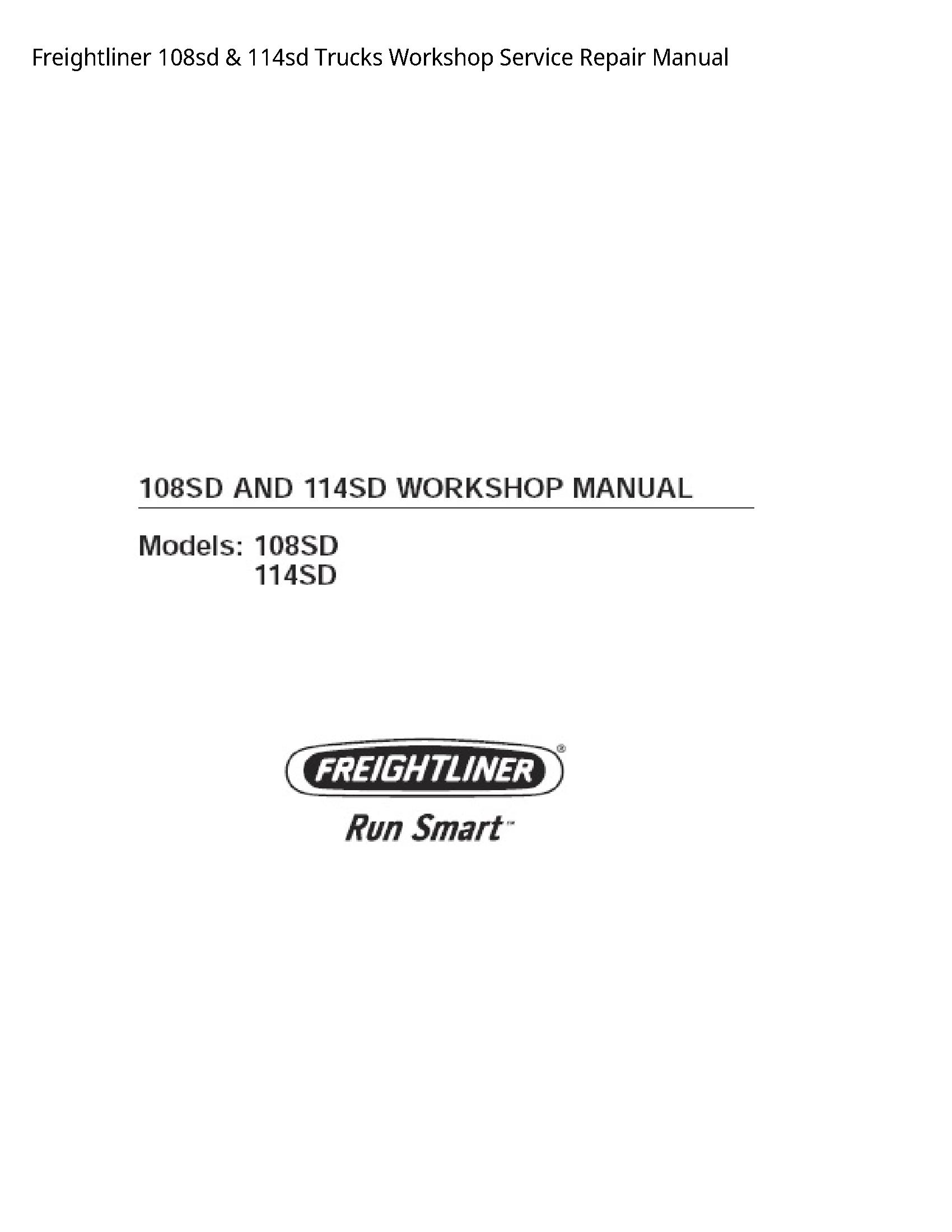 Freightliner 108sd Trucks manual
