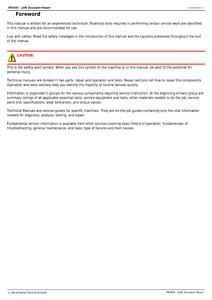 John Deere 120C manual pdf