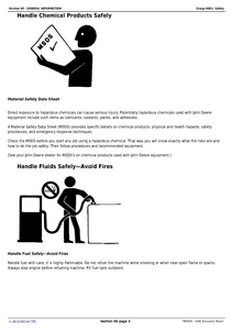 John Deere 120C service manual