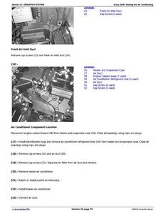 John Deere 1F9250GXC608001- manual