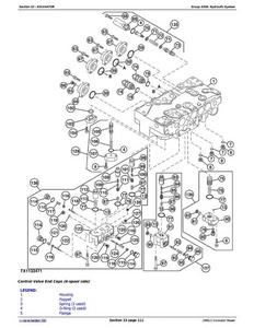 John Deere 1F9250GXC608001- service manual