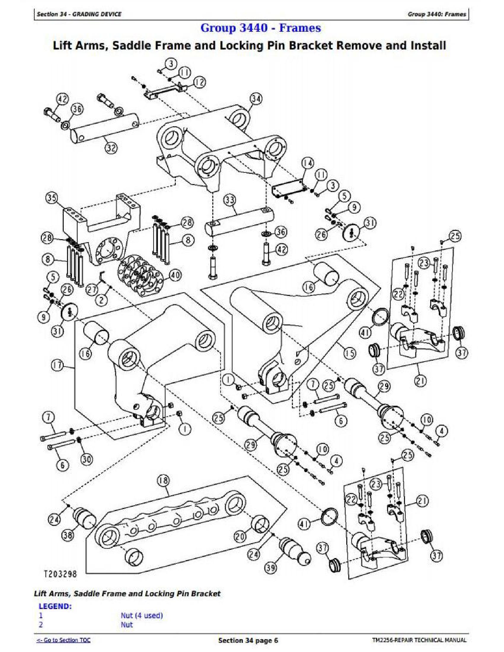 John Deere 870D manual