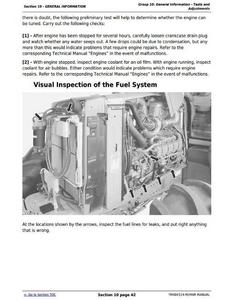 John Deere 872GP manual