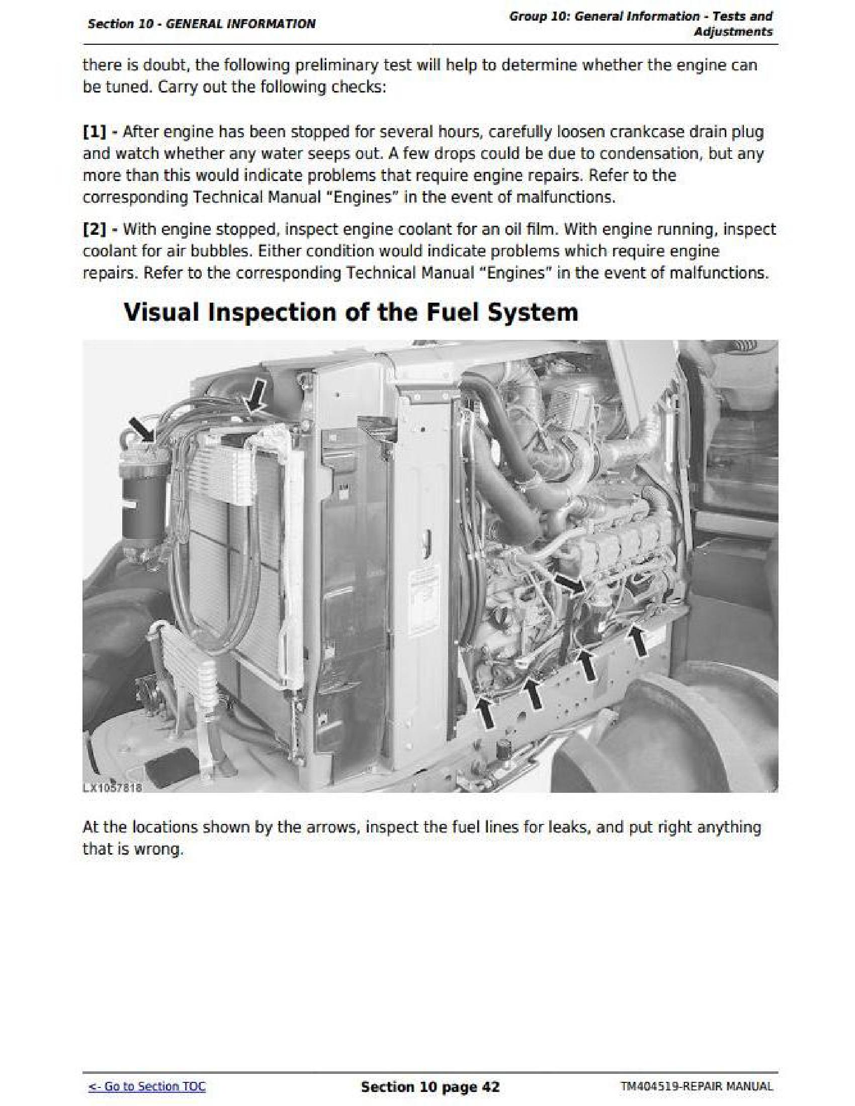 John Deere 872GP manual pdf