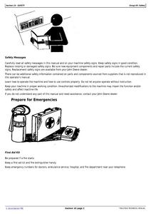 John Deere 3038E service manual