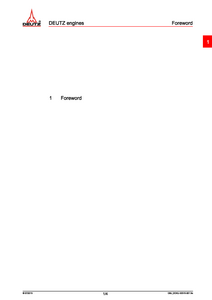 Deutz L6 TTCD Engine (for Fendt Vario Service manual