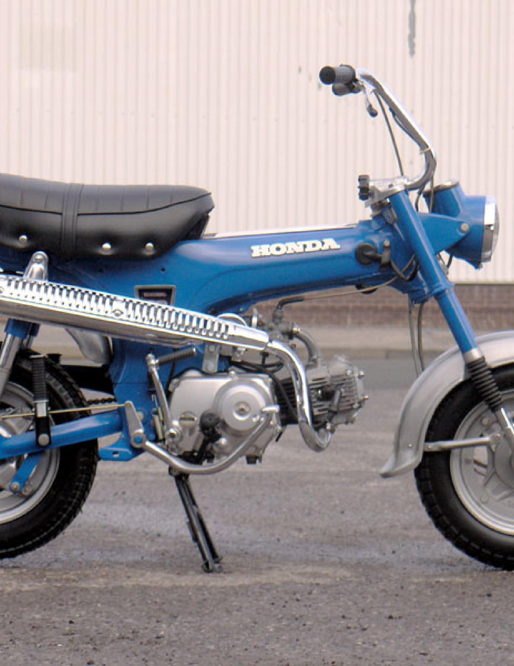 Honda ST50-70 Motorcycle manual