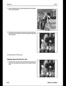 KOMATSU WA380-6 Wheel Loaders manual pdf