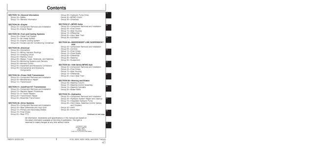 John Deere 8230 manual