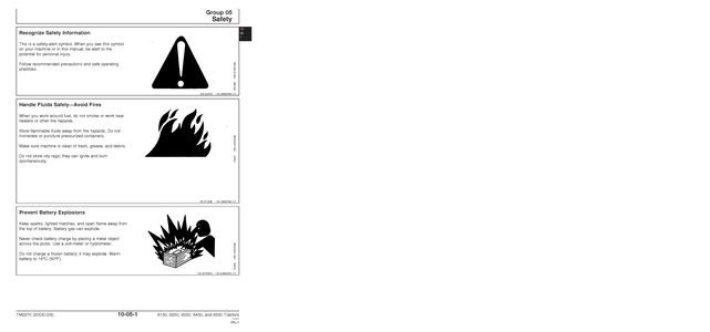 John Deere 8530 service manual