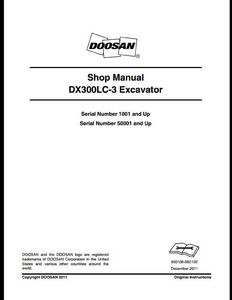 Doosan 420LC-V Solar Crawled Excavator manual