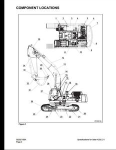 Doosan 420LC-V Solar Crawled Excavator service manual