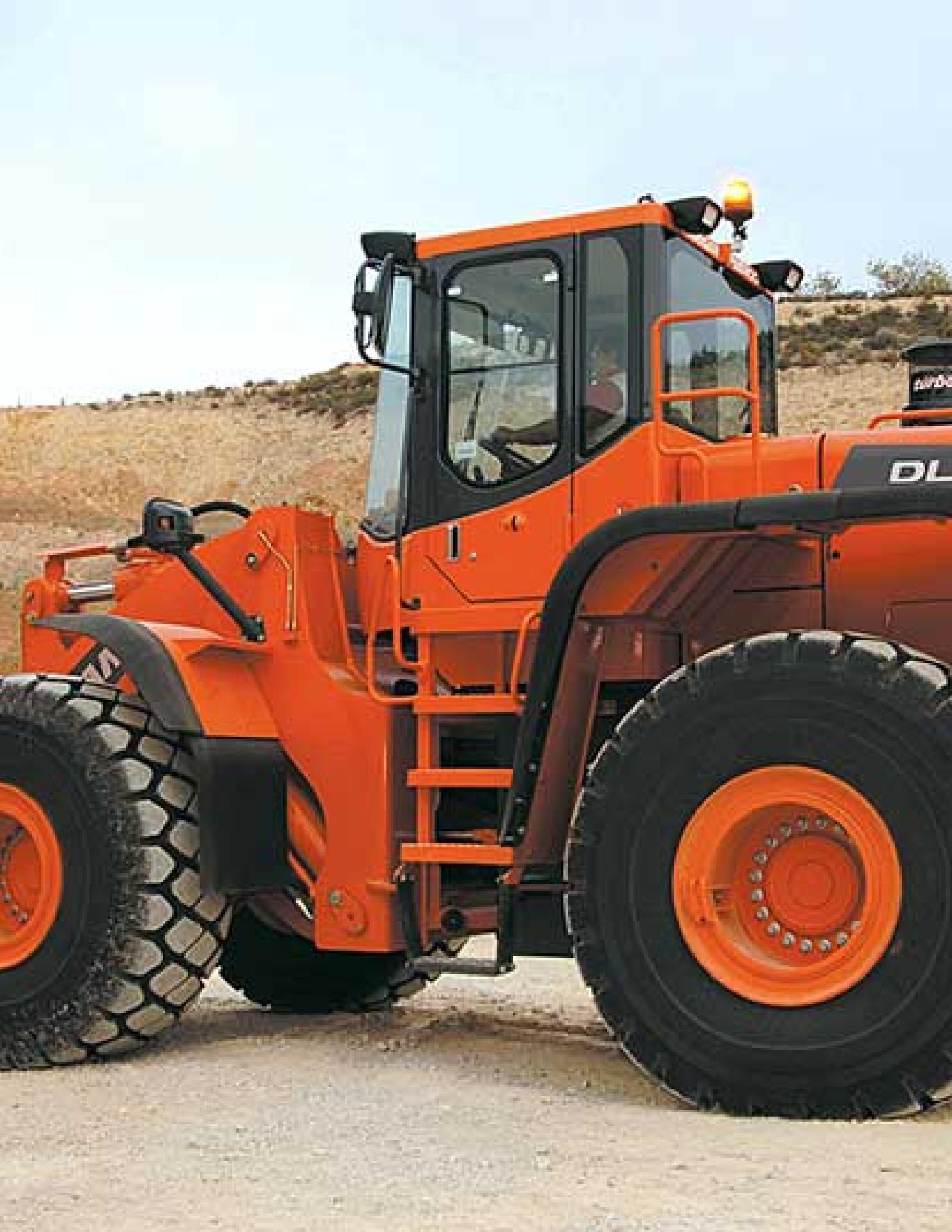 Doosan DL420 Wheel Loader manual