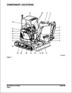 Doosan DX420LC-3 Crawled Excavator service manual