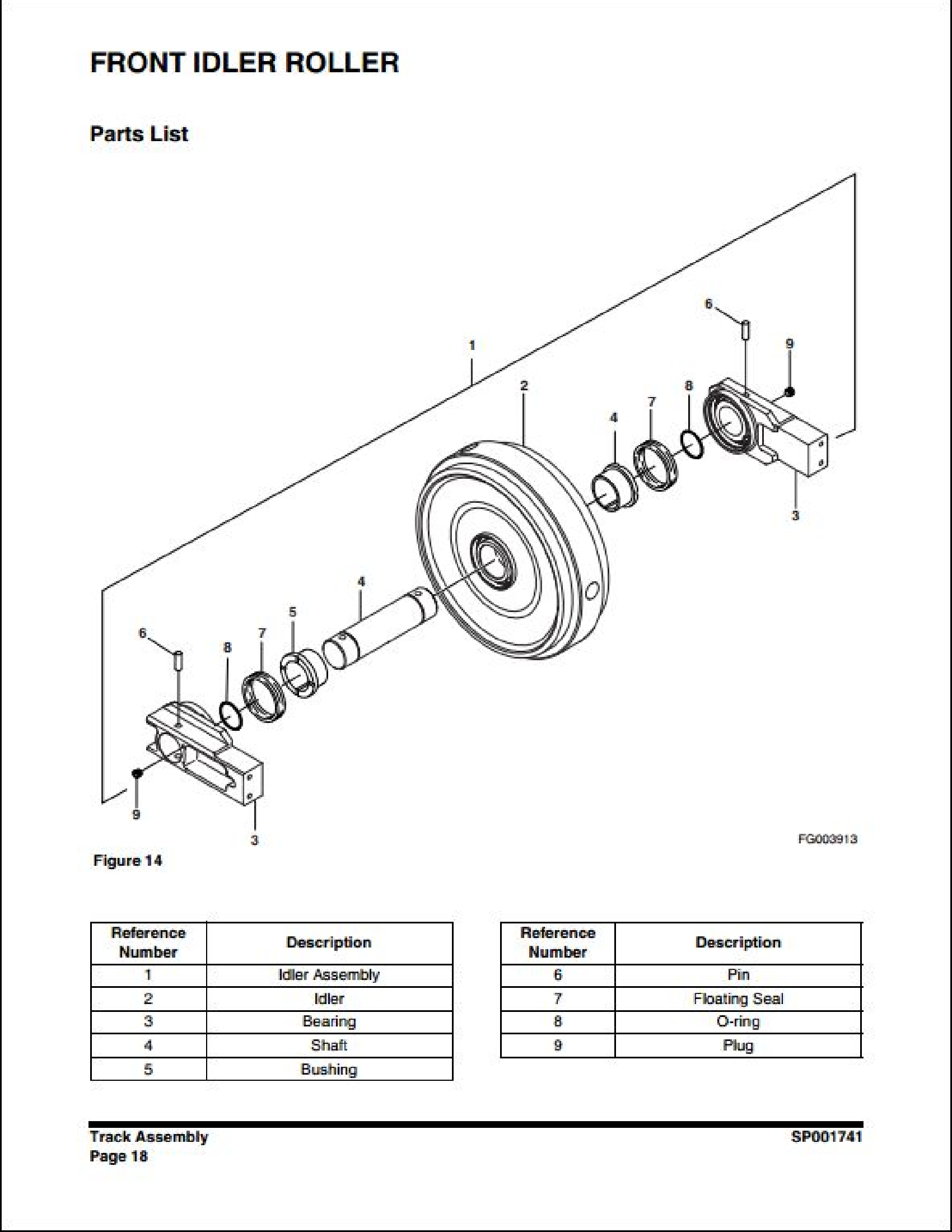 Doosan DX350LC Crawled Excavator manual