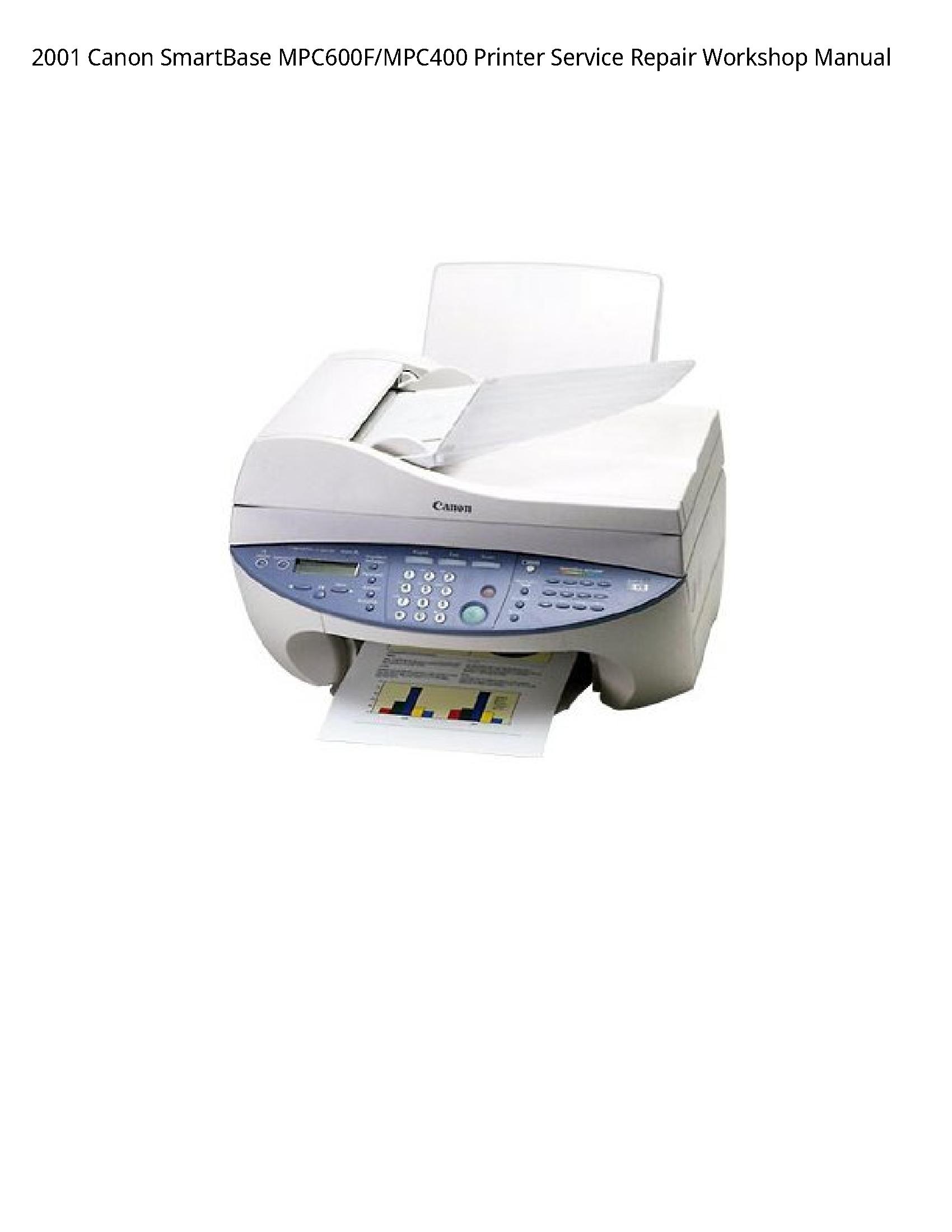 Canon MPC600F SmartBase Printer manual