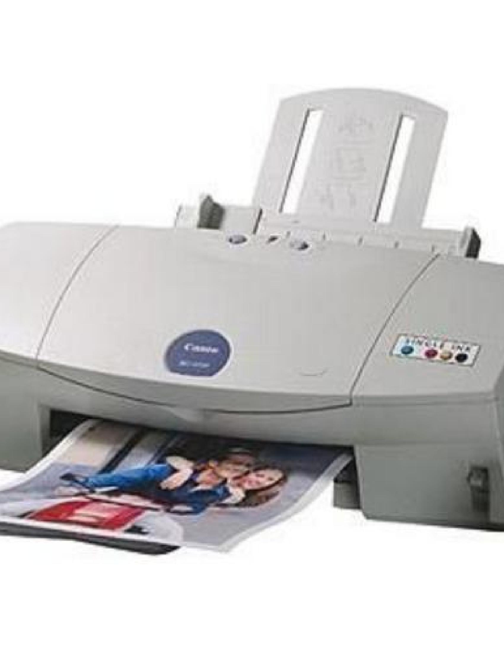 Canon BJC-6200 Printer manual