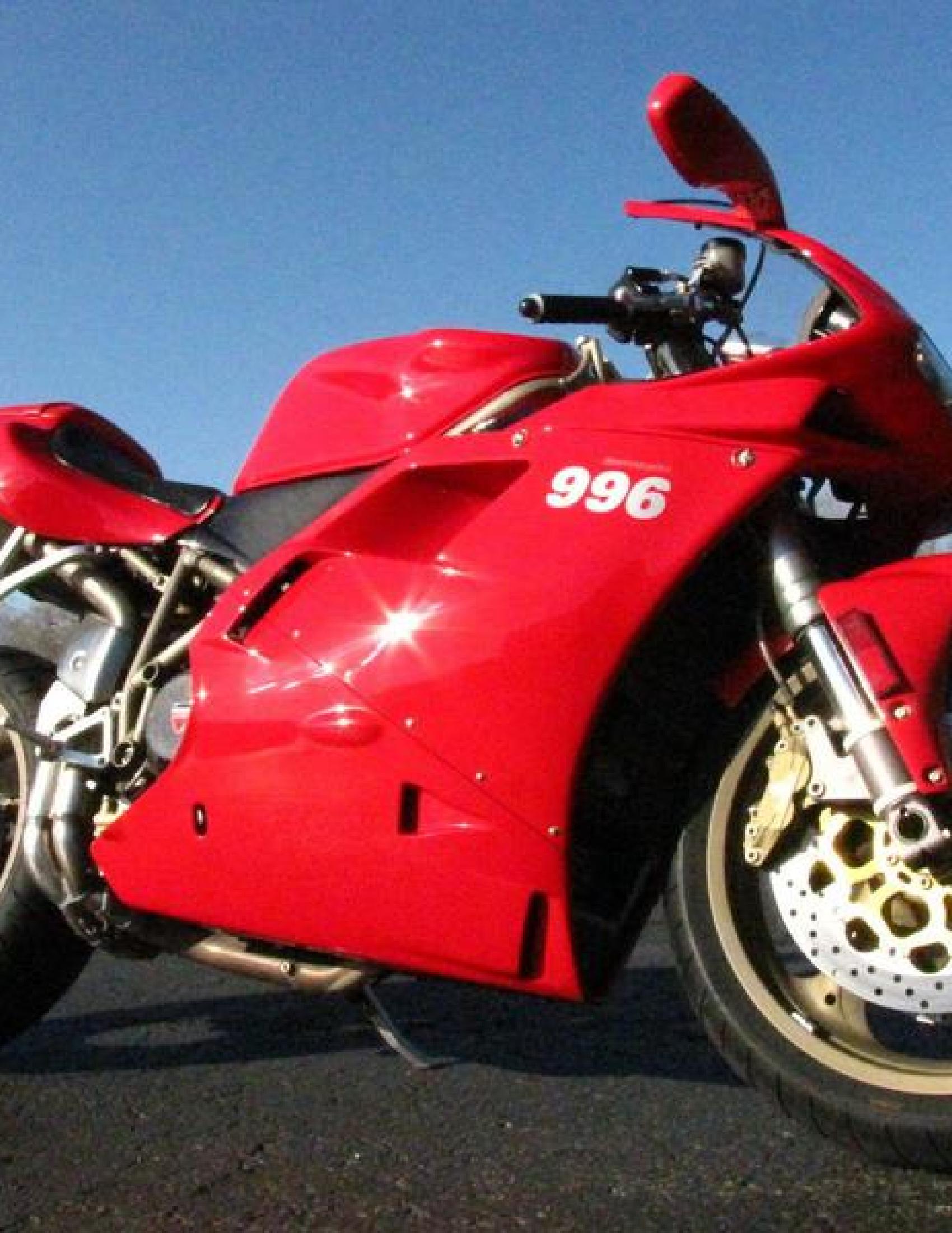 Ducati 996 Motorcycle manual