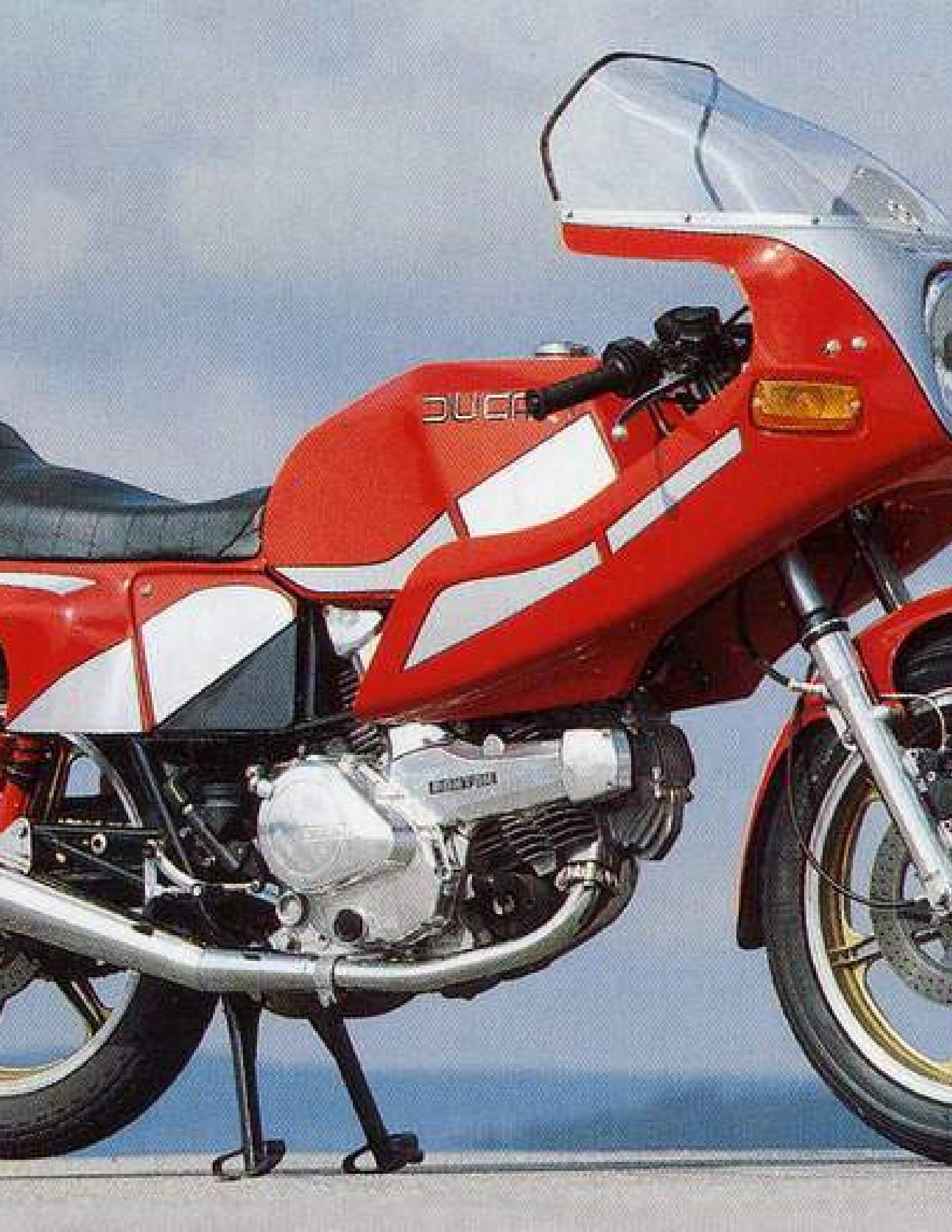 Ducati 500 SL Pantah Motorcycle manual