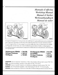 Ducati 620S Motorcycle Parts manual