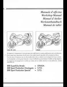 Ducati 888 Motorcycle manual
