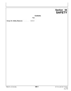John Deere 6210L manual