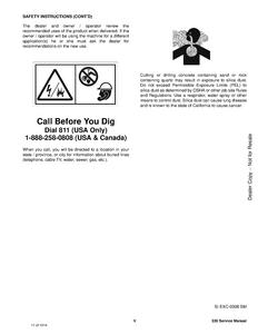 Bobcat 335 Compact Excavator manual