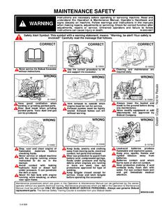 Bobcat 331E Hydraulic Excavator G Series manual