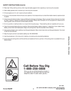Bobcat X334 Hydraulic Excavator manual
