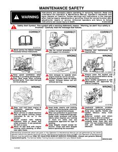 Bobcat 323 Compact Excavator service manual