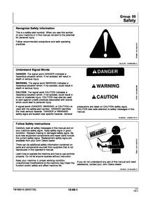 John Deere S160 manual