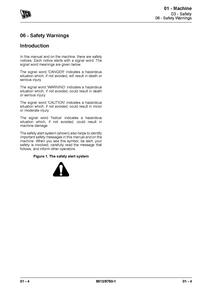 JCB 190T Skid Steer Loader manual