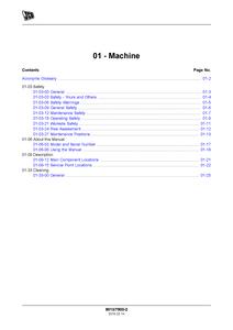 JCB 19C-1 PC Compact Excavator manual