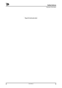 JCB 320T SKID STEER LOADER Operator manual