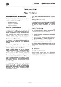 JCB 508C Loadalls service manual