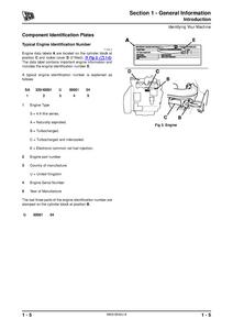 JCB 508C Loadalls manual pdf
