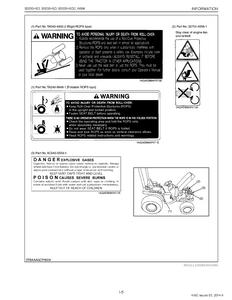 Kubota B3030HSDC service manual