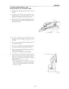 Takeuchi Tb035 Compact Excavator manual