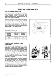 New Holland TC210 manual pdf