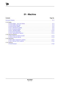 JCB JS145 manual