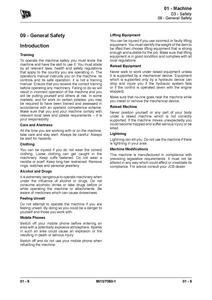 JCB JS180 manual