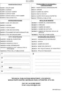 JCB 1400B manual