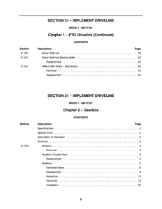 New Holland BR7090 manual