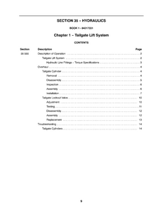 New Holland BR7090 service manual