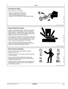 John Deere Z375R manual